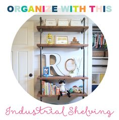 Great tips for organizing your spaces with @iheartorganize!