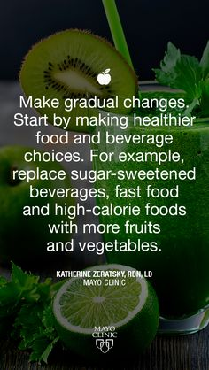 Gradual changes will