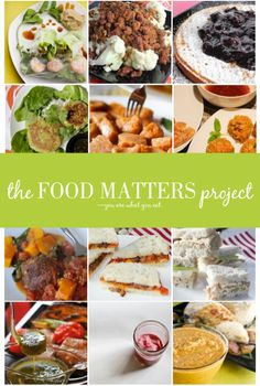 The Food Matters Projects Recipes on KeelyMarie.com