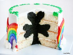 Amazing shamrock cake