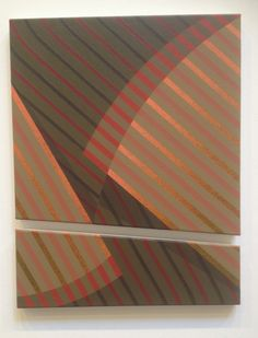 Tomma Abts; Diptych