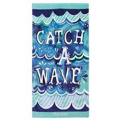 Katie Daisy beach towel for PBteen