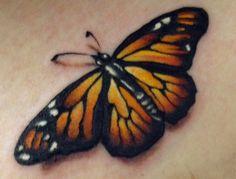 tattoo ideas, monarch butterfli, mi tattoo, pierc, butterflies