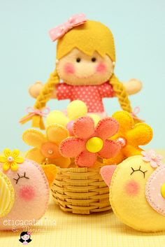 Uma fazendinha rosa para Júlia ♡◕‿◕♡ by Ei menina! - Érica Catarina, via Flickr
