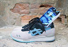 Asics Gel Lyte III Urban Camo (Fall/Winter 2013) #sneakers #kicks