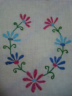 Hand Embroidery Designs Easy
