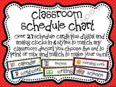 schedul chart
