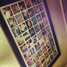 fun craft, instagram poster