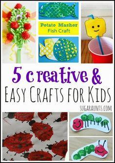 Sugar Aunts: Easy Crafts for Kids