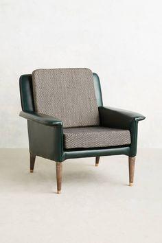 Lasse Leather Armchair - anthropologie.com