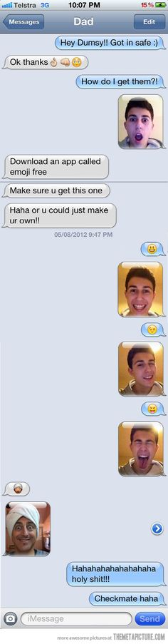 funny texts, funni stuff, laugh, real life, giggl, taking pictures, funny stuff, emoji, thing