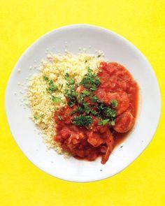 Shrimp In Spiced Tomato Sauce Recipe