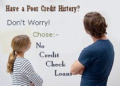 No Credit Check No Upfront Fee Loans: Escape from rejections due to bad credit!