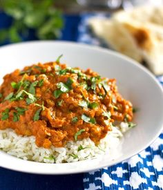 Red lentil curry-omit butter and use coconut milk to make it dairy free.LML
