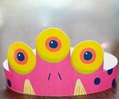 Monster Party Hat monster parti, monster party, birthday parties, party hats, monster birthday, fiesta, parti children, parti hat
