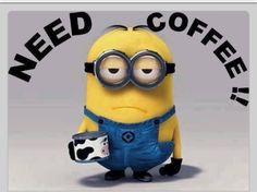coffee needing Minions!