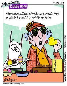 Easter-Maxine's Crabby Road Cartoon