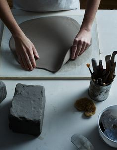 You are not an artist simply because you paint or sculpt or make pots... An artist is a poet in his or her own medium. And when an artist produces a good piece, that work has mystery, an unsaid quality; it is alive.  | Words by Toshiko Takaezu, US ceramicist & painter, Image by Michael Graydon + Nikole Herriott