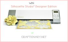 Silhouette Studio® Designer Edition GIVEAWAY (ends Nov 23) #silhouette