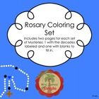 Rosary Coloring Set