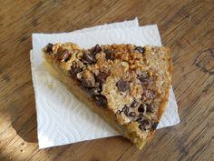 Pear Choco Walnut Coffee Cake
