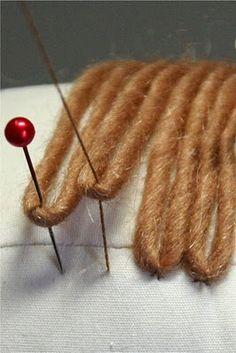 bybido: Boneca Tutorial de cabelo (rabos de cavalo)