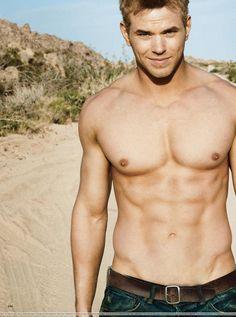 Kellan Lutz: Shirtless & Ab Fab For Men's Health (PHOTOS)