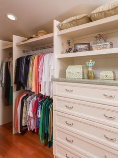 New custom closet ideas
