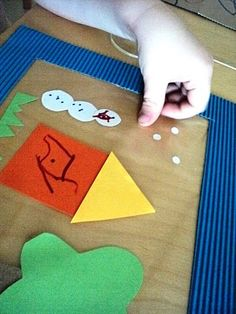 sticky table art with frame