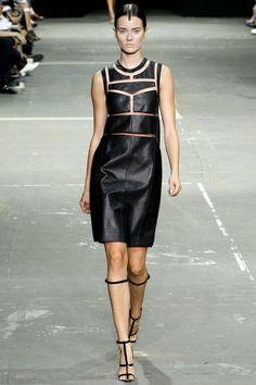 Gothic Couture: Alexander Wang Spring 2013 RTW, via fashionista.com.