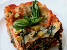 Vegetable Lasagna from Kelsey Nixon.  Fresh, flavorful and filling but veg-friendly to boot.  Great for a crowd.