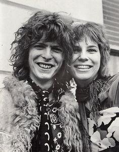 David + Angie Bowie