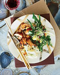 Chicken Braciole with Spinach Recipe