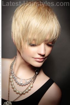 Short Wispy Hairstyle with Texture