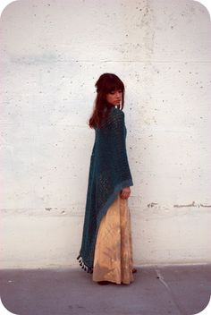 crochet cape-I'm afraid the url doesn't work, but I still think this is cool......for days when i just want to wear a long coat looking thing.....or would also be good for costumes (: