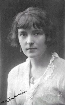 Katherine Mansfield Beauchamp Murry (14 October 1888 – 9 January 1923) was a prominent modernist writer of short fiction.