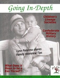 Going In-Depth is the #free digital #genealogy magazine presented by The In-Depth Genealogist. In each monthly issue, you'll find guest articles, regular columns, and free resources such as Ask Ephraim and MIAA to help you along your family history journey.