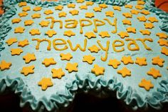 Happy New Year Cupcake Cake