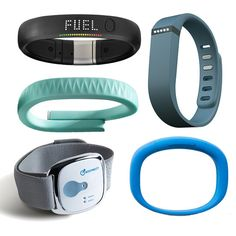 Band Together: 5 Gadgets That Track Your Fitness Stats