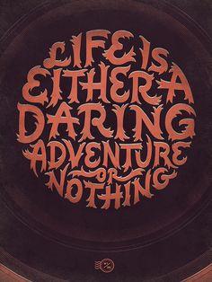 Daring Adventure - Wander - Becca Clason - Lettering & Design