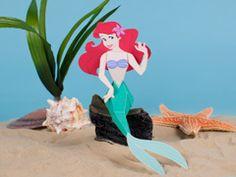 Ariel 3D Papercraft