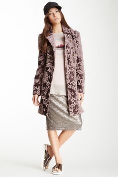 FP jacquard coat