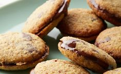 Hazelnut Chocolate Sandwich Cookies Recipe ==> http://www.craftdiyideas.com/hazelnut-chocolate-sandwich-cookies-recipe/