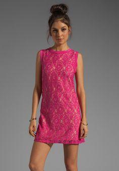 Color Lace Dress