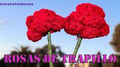 Rosas con trapillo