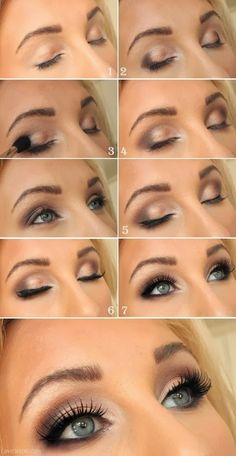DIY eyeshadow so pretty! How come mine never turns out this way! Lol. Wedding make-up?