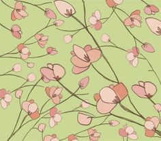 nursery walls, wall murals, wall decorations, remov wallpap, kid rooms, cherries, place, accent walls, cherry blossoms