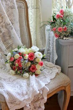 Aiken House & Gardens ~ pretty bouquets