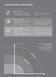 Holistic Innovation – 3-Horizon Innovation Model.