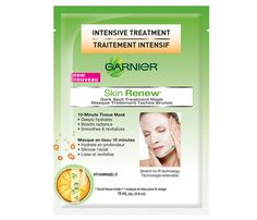 Single-Serving Beauty Essentials | Spot Clean: If you've got a few extra minutes on your hands—or a sauna to stretch out in—layer on Garnier's Skin Renew Dark Spot Treatment Mask, $17 for 6 masks, before your relaxation session. This paper-like treatment stretches to fit your face, hydrates skin, dissolves dark spots and adds a lit-from-within glow thanks to a dose of vitamin C.